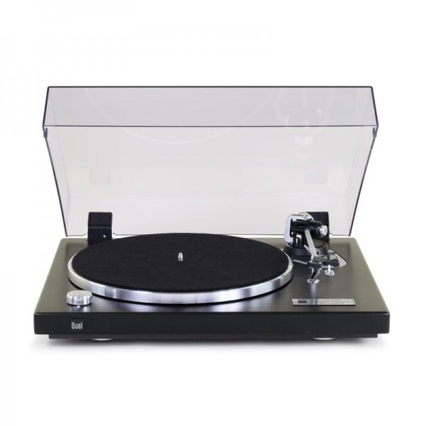 Dual CS 526 Schallplattenspieler Strukturlack Schwarz