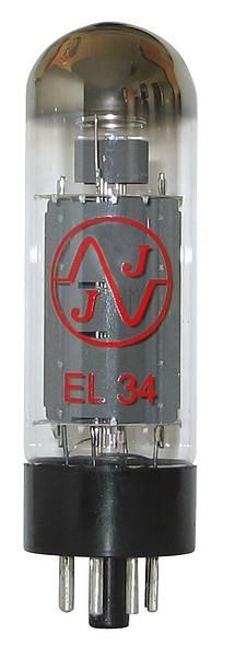 JJ Endstufenröhre EL34/6CA7