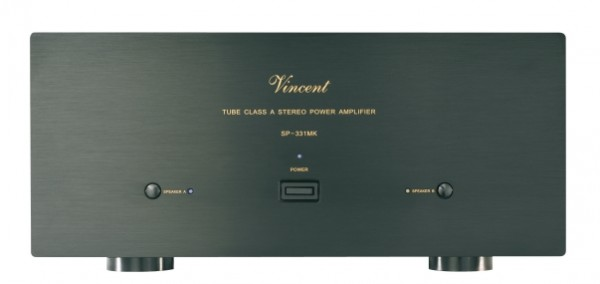 Vincent SP-331 MK Endstufe Stereo Hybrid schwarz