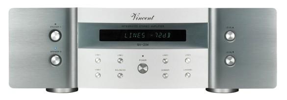Vincent SV-234 Vollverstärker silber