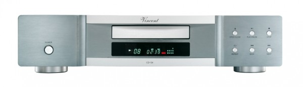 Vincent CD-S4 CD-Player silber