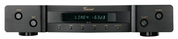 Vincent SA-94 Vorverstärker Stereo schwarz