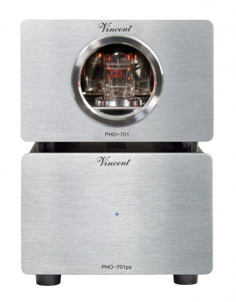 Vincent PHO-701 Phonovorverstärker MM/MC silber