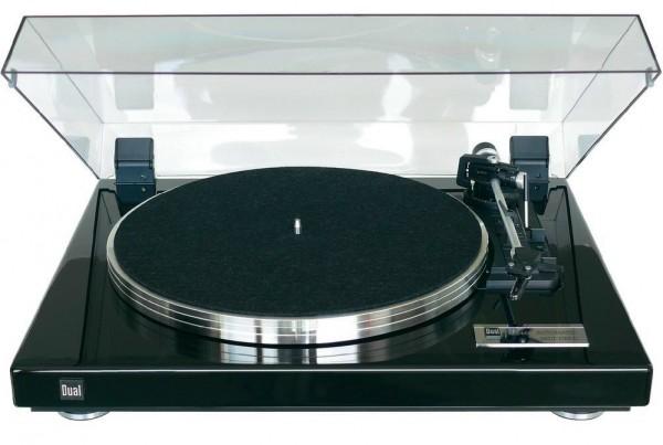 Dual CS 460 Plattenspieler schwarz Klavierlack