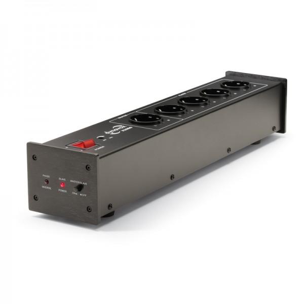 Dynavox HiFi-Steckdosenleiste X2000 schwarz
