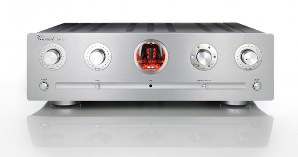 Vincent SA-T7 Röhrenvorverstärker Stereo silber
