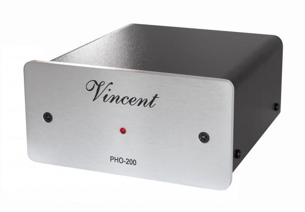 Vincent PHO-200 Phonovorverstärker silber