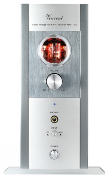 Vincent KHV-1 Kopfhörerverstärker Hybrid silber