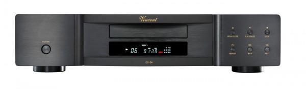 Vincent CD-S4 CD-Player schwarz