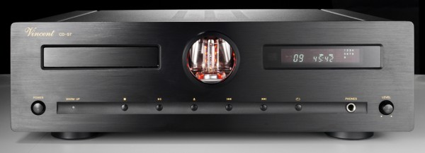 Vincent CD-S7 CD-Player Hybrid schwarz