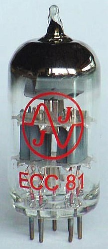 JJ Vorverstärkerröhre ECC81/12AT7