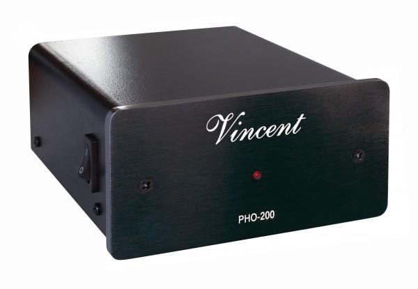 Vincent PHO-200 Phonovorverstärker schwarz