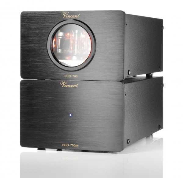 Vincent PHO-700 Phonovorverstärker MM/MC schwarz - Auslaufartikel