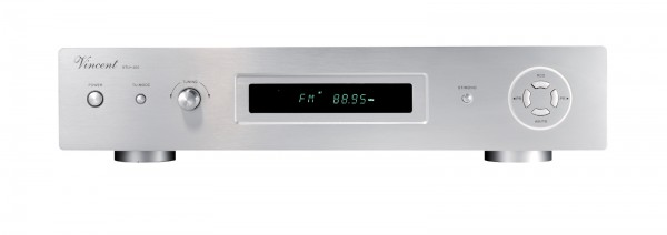 Vincent STU-400 Tuner silber - Vorführgerät