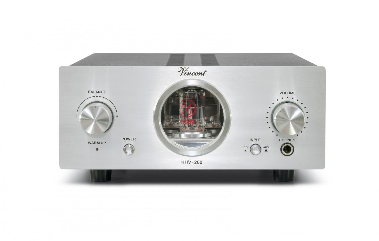Vincent KHV-200 Kopfhörerverstärker Hybrid silber