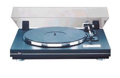 Dual CS 455-1 EV Plattenspieler schwarz/silber (mit eingeb. Vorverstärker)