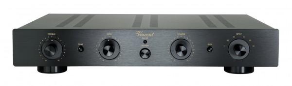 Vincent SA-32 Vorverstärker Stereo Hybrid schwarz