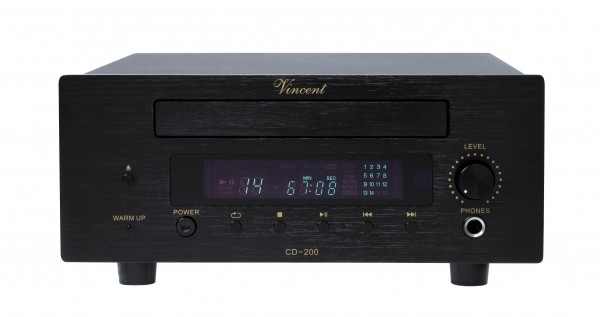 Vincent CD-200 CD-Player Hybrid schwarz