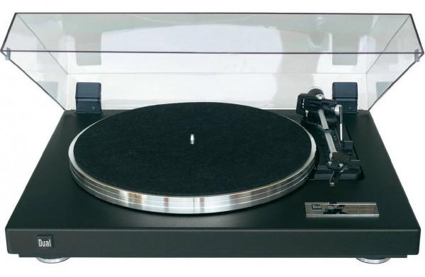 Dual CS 460 Plattenspieler schwarz Strukturlack
