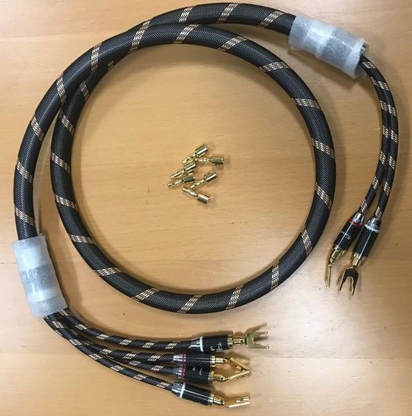 Vincent Highend Bi-Wire-Lautsprecherkabel 5m - Einzelstück