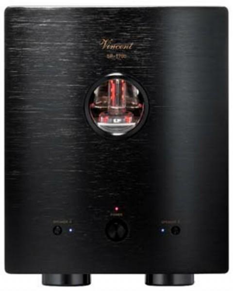 Vincent SP-T700 Hybrid Endstufe Mono schwarz Paar - Auspackgeräte