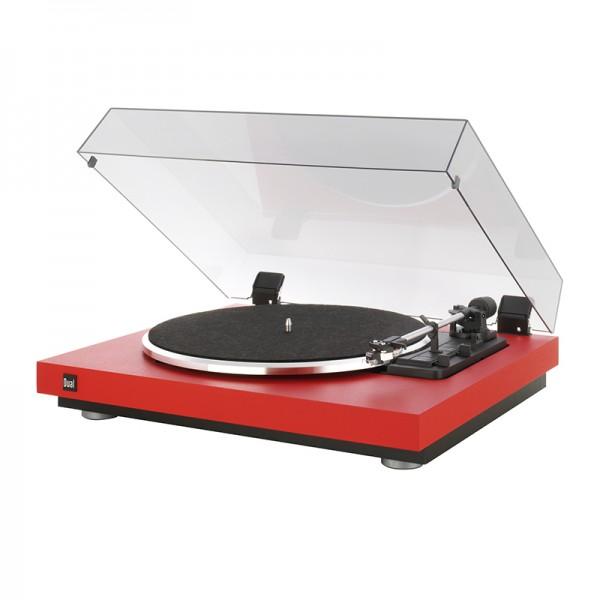 Dual CS 440 Plattenspieler rot