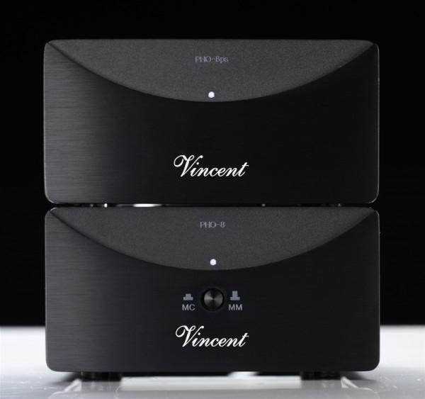 Vincent PHO-8 Phonovorverstärker MM/MC schwarz