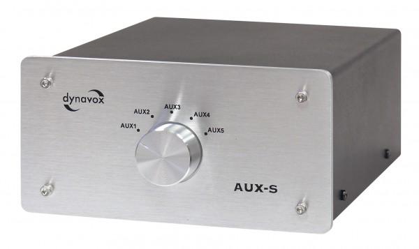 Dynavox AUX-S Eingangs-Erweiterung/Umschalter silber