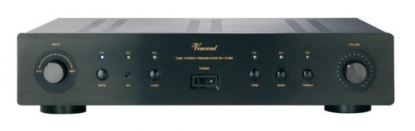 Vincent SA-31 MK Vorverstärker Stereo Hybrid schwarz