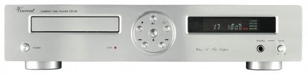 Vincent CD-S2 CD-Player silber - Auslaufartikel