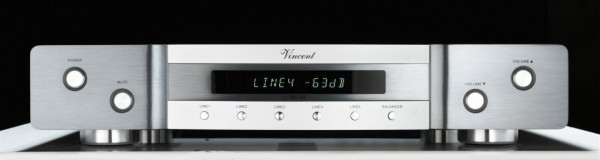 Vincent SA-94 Vorverstärker Stereo silber