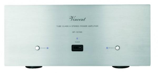 Vincent SP-331 MK Endstufe Stereo Hybrid silber
