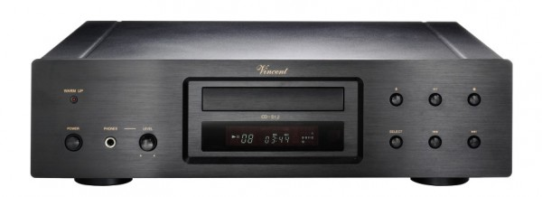 Vincent CD-S1.2 CD-Player Hybrid schwarz