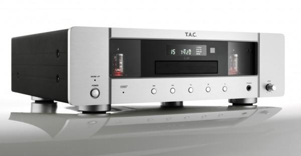 T.A.C. C-35 Röhren-CD-Player silber