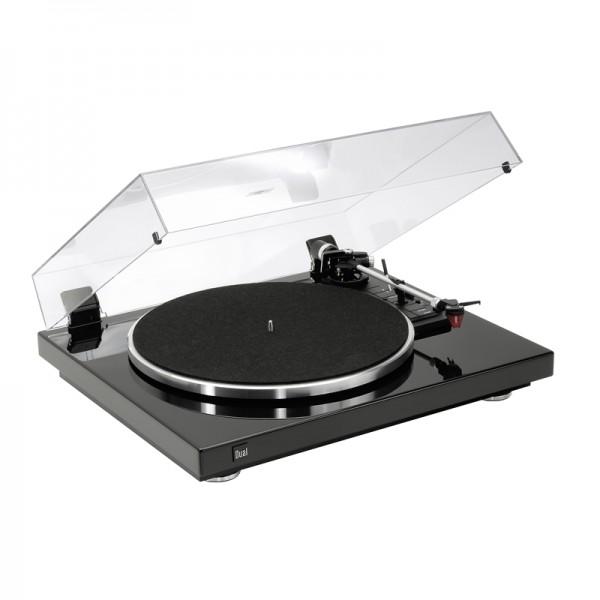 Dual CS 465 Schallplattenspieler Schwarz Hochglanz