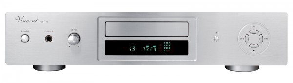 Vincent CD-400 CD-Player silber