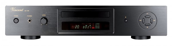 Vincent CD-400 CD-Player schwarz