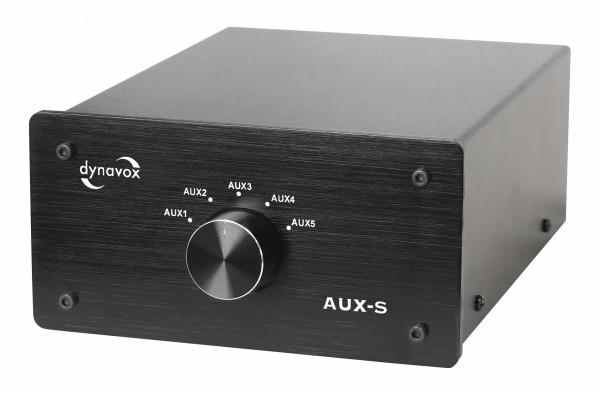 Dynavox AUX-S Eingangs-Erweiterung/Umschalter schwarz